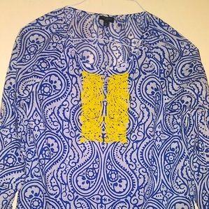 TALBOTS linen/cotton tunic
